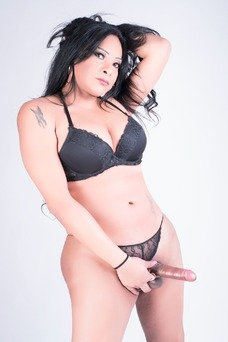Morenaza Fogosa, Travesti en Madrid